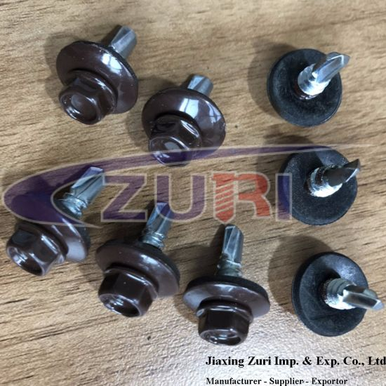 Roofing Screw 5.5X19 Ral 8017 pictures & photos