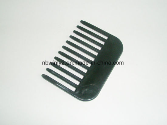 11 Teeth Black Plastic Comb pictures & photos