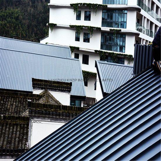 China Long Span Standing Seam Metal Roofing Panels China Standing Seam Metal Roofing Panels Long Span Standing Seam Metal