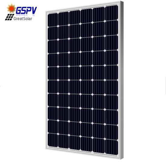 High Efficiency 270W/30V Monocrystalline Panel Solar