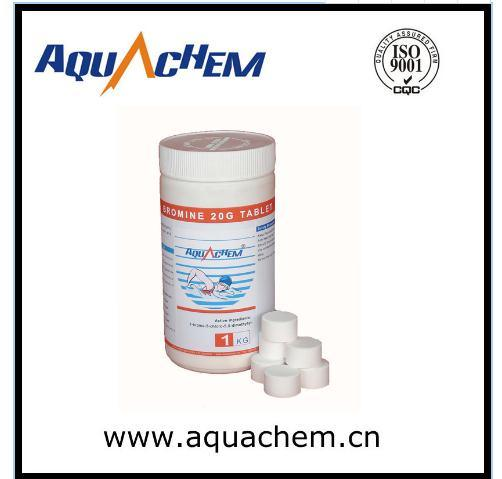 Water Treatment Chemical Tablet, Bcdmh, Tablet, 20g Tablet for Swimming Pool pictures & photos