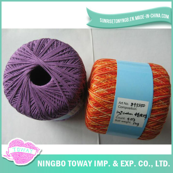 100% Cotton Cross Stitch Thread Winter Cap Wool Knitting Yarn