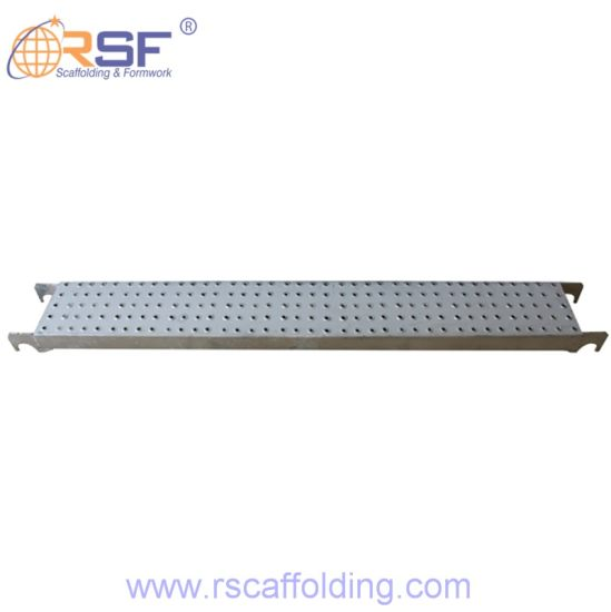 Ringlock Scaffold Steel Planks with Hook for Sale