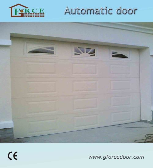 Remote Control Automatic Overhead Sandwich Car Entrance Door pictures & photos