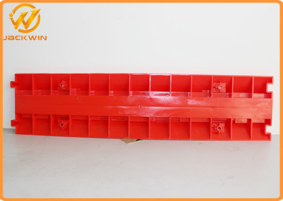 Hot Selling Red 2 Channel PVC Cable Protector Ramp Yellow Jacket pictures & photos