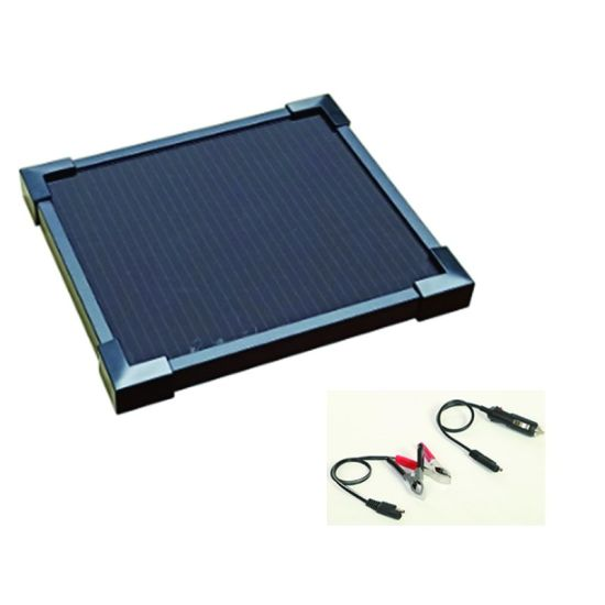 2.7W Solar Panel Automatic Car Battery Charger