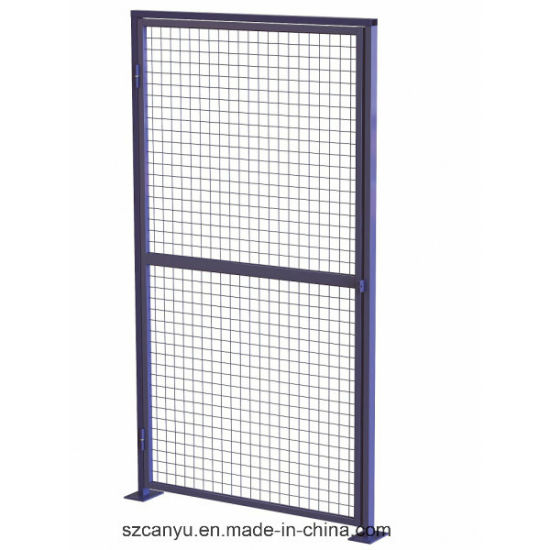 China Security Fencing Long Movable with Wheels Wire Mesh Workshop ...