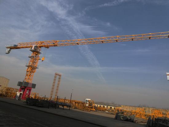 Dahan 16t Qtz315 (7527) Flat Top Tower Crane