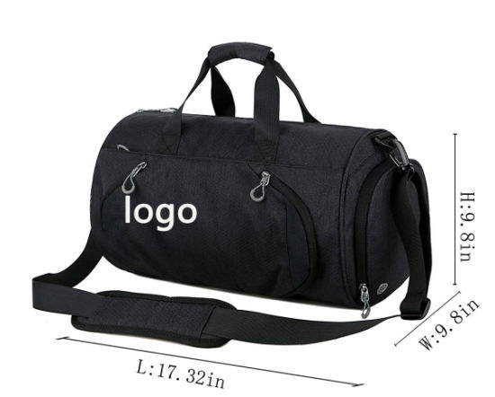 de0af2a6095a79 Gym Sports Small Duffel Bag for Men and Women with Shoes Compartment