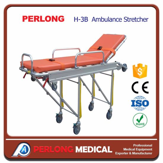 Aluminum Alloy Ambulance Emergency Stretcher Hospital Stretcher pictures & photos