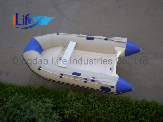 Ilife Ce Certificated Rescue Use PVC Inflatable Boat for Sale