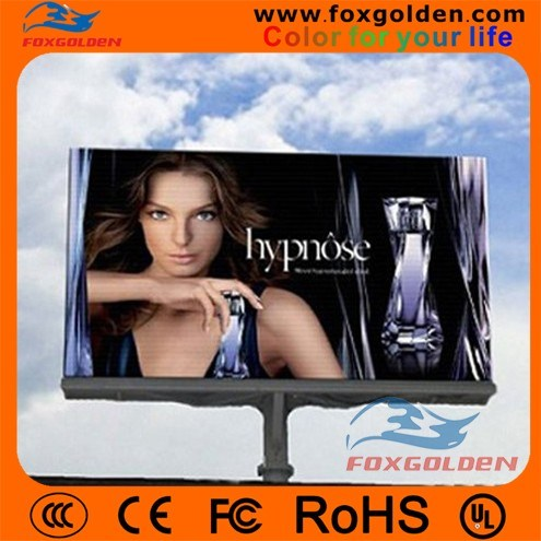 Outdoor P10 Full Color Video LED Advertising Screen Display