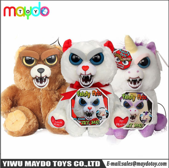 New Face Changing Unicorn Pets Adorable Plush Stuffed Animal Plush Toy Squeeze Pets