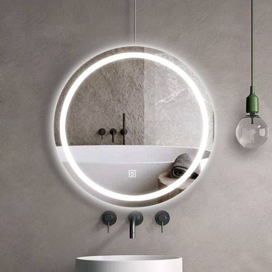 Modern Wall Mounted Home Door Smart LED Mirror China Manufacturer