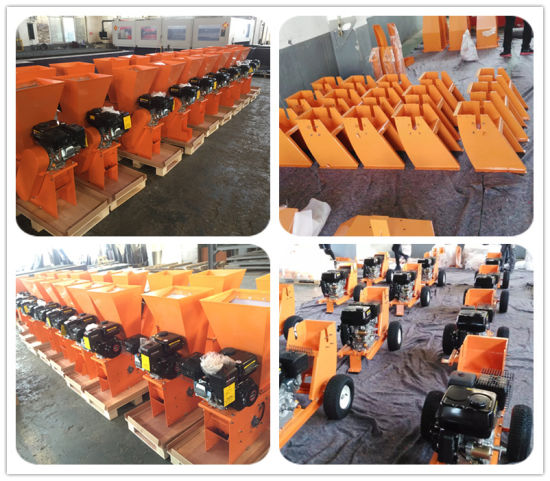Hot Sale in Australia and New Zealand 9HP Wood Chipper Machine/ Chipper Shredder pictures & photos