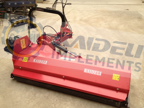 High-Power Heavy Verge Flail Mower