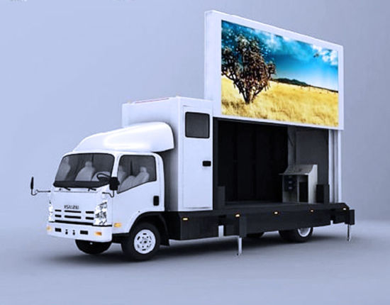 P10 High Brightness and High Resolutin, Full Color Truck Mobile Outdoor LED Display pictures & photos