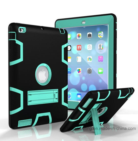 Rugged Hybrid Shockproof Full Protective Case Cover for Apple iPad pictures & photos