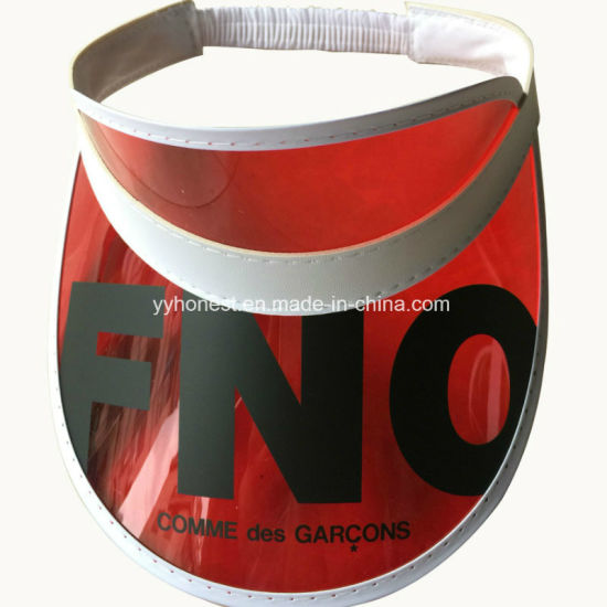 Custom High Quality Cheap Colorful PVC Sun Visor pictures & photos