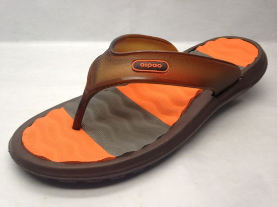 Simple Youth EVA Injection Slipper with V Strap (21iy17012) pictures & photos