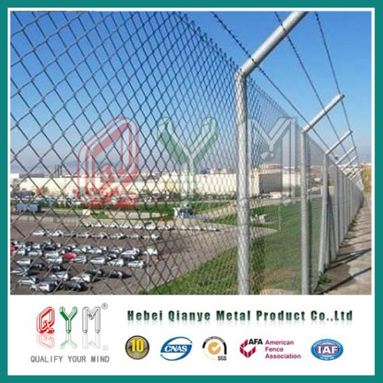 Wholesale Galvanized / PVC Coated Chain Link Fence Panels