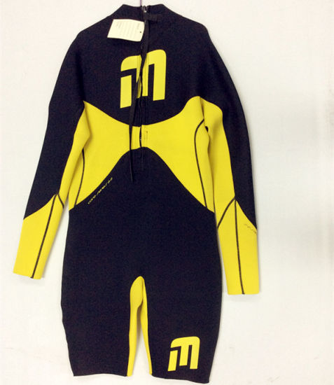 Short Neoprene Surfing Wetsuit with Nylon Fabric (HX15S91) pictures   photos 11e53bdc6