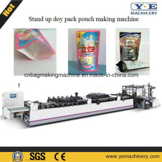 China Laminated Doy Pack Pouch Making Machine