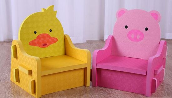 Lovely EVA Foam Chair and Tables Furniture for Baby Seat