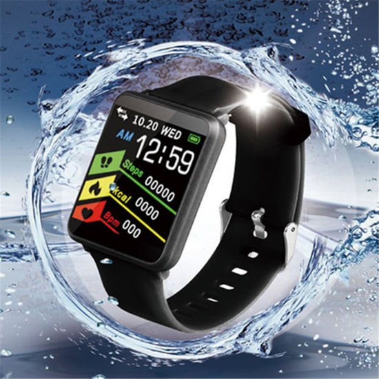 Original F1 Smart Watch with Heart Rate Monitor Pedometer Round Touch  Screen Bluetooth Smartwatch for Ios Android