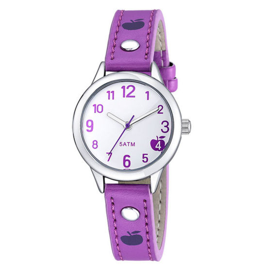 Promotional Quartz Kids Leather Strap Watch Cute Cartoon Gifts Watch pictures & photos