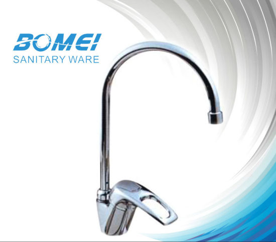 China Side Handle Neck Spout Kitchen Sink Faucet Bm50805 China