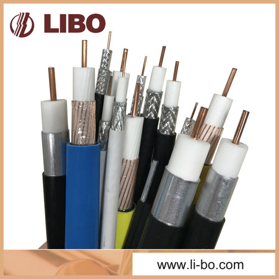 Communication RG6 Coaxial Cable for Indoor CATV / CCTV Systems