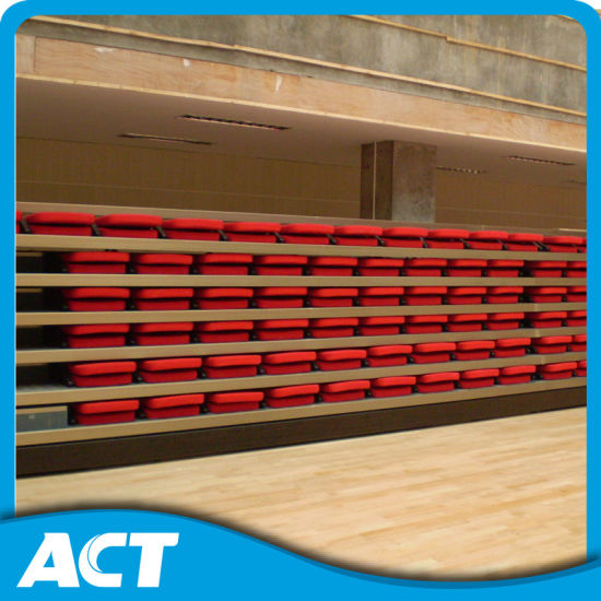 Good Quality Indoor Telescopic Seating of Guangzhou for Basketball Court pictures & photos