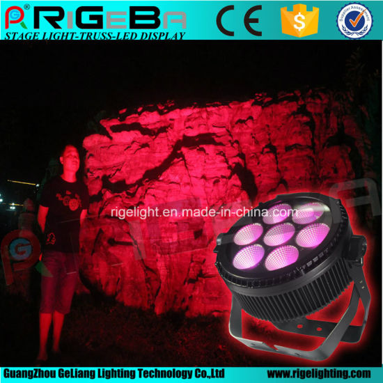 High Power LED PAR 64 7X25W Rgbwy 5in1 Outdoor Light