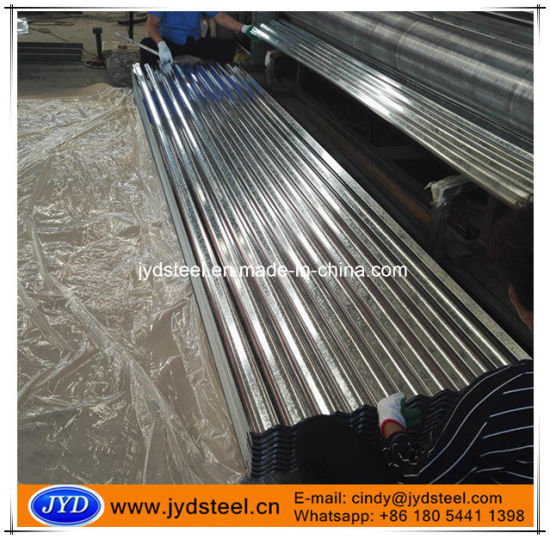 Zinc Coated Corrugated Metal Roof Panel Sheet pictures & photos