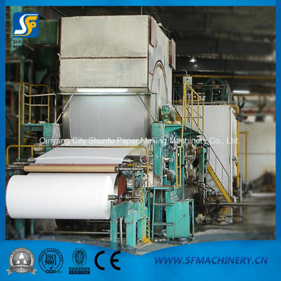 1.5-2tpd Toilet Paper Machine for Toilet Paper Roll Production Line pictures & photos
