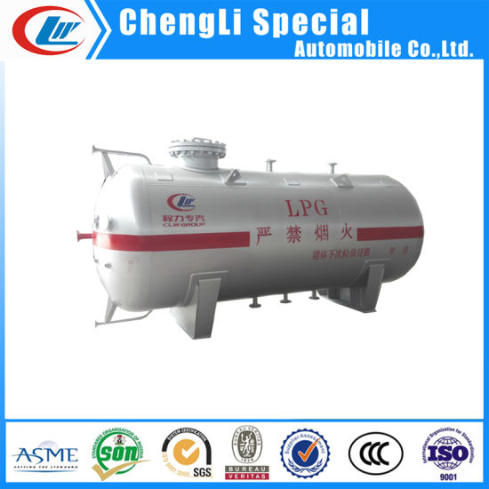 5cbm LPG Propane Butane Storage Tank with ASME for Nigeria pictures & photos