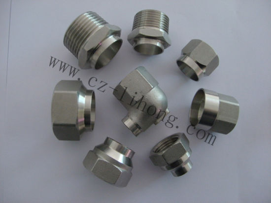 "2-1/2"" Stainless Steel 304 DIN2999 Pipe Fitting From Casting pictures & photos"