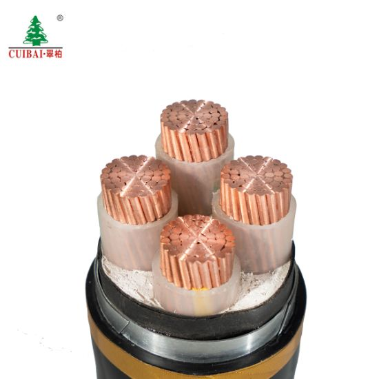 XLPE Insulated PVC Copper Conductor Electric Power Cable
