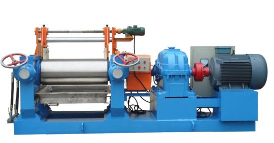 High Efficiency Rubber Production Mixing Mill with 2 Rolls pictures & photos