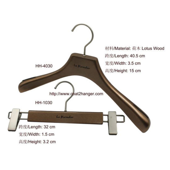 Hot Female Wooden Clothes Hanger Pictures Photos