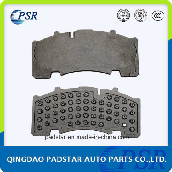 Truck Brake Pad Casting Backing Plate 9mm Backing Plate for Mercedes-Benz pictures & photos