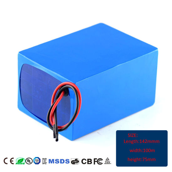 Manufacturer Supply 36V 20ah High Quality Electric Rickshaw Battery pictures & photos