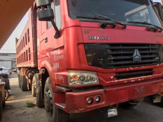 Sinotruck HOWO 8X4 12 Wheel Mining Truck Tipper Truck Heavy Dump Truck Dump Trucks