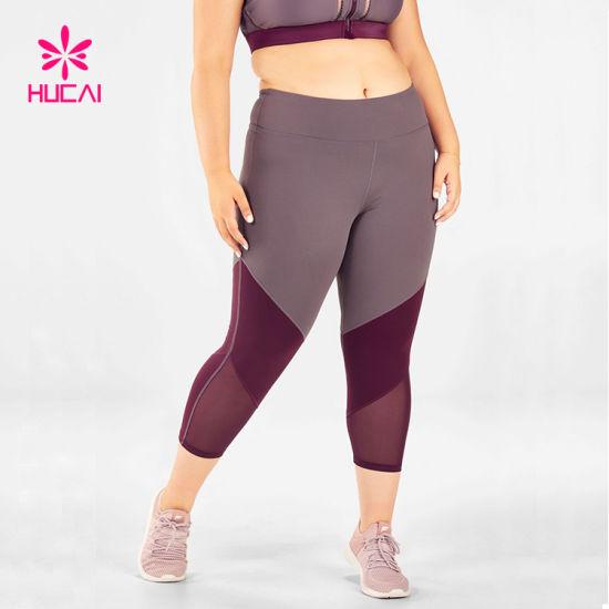 Best Seller Sports Wear Women Mesh Plus Size Leggings