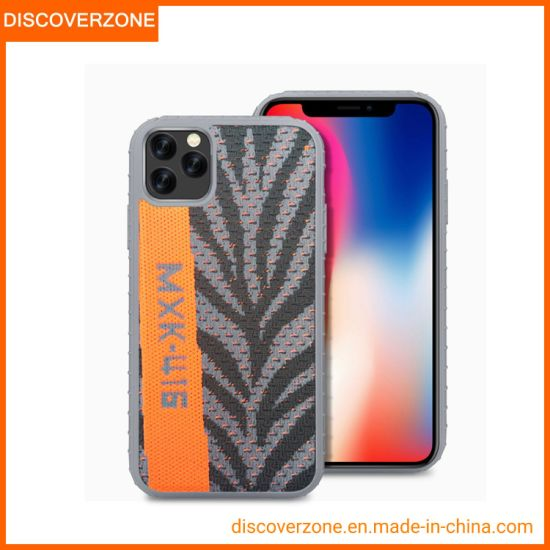 New 2019 Cell Phone Cover for iPhone X Xr Xs Max Shockproof Coconut Fabric TPU+PC Phone Case for iPhone11/11PRO