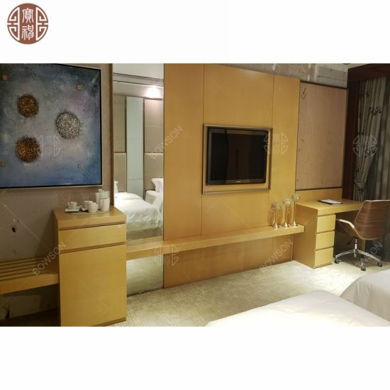 Twin Room Hotel Bedroom Furniture With