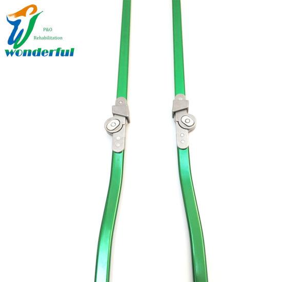 Green Aluminum Bar Child Ring Lock Orthotics Knee Joint