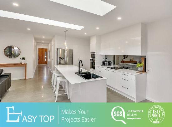 High-End Modern Design Particle Board Seamless Edge Banding Modular Kitchen Cabinet