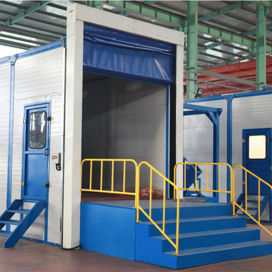 Industrial Cleaning Equipments Automatic Sand Blasting Room